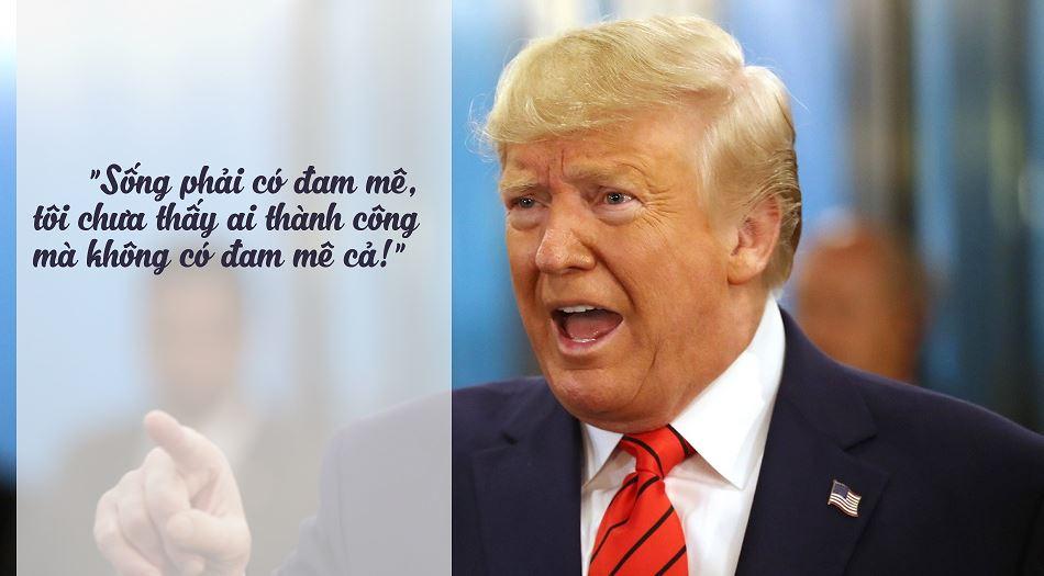 Donald Trump người truyền cảm hứng