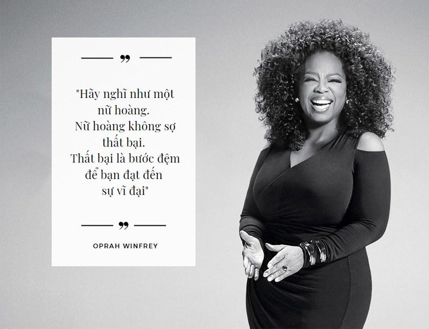 Oprah Gail Winfrey người truyền cảm hứng