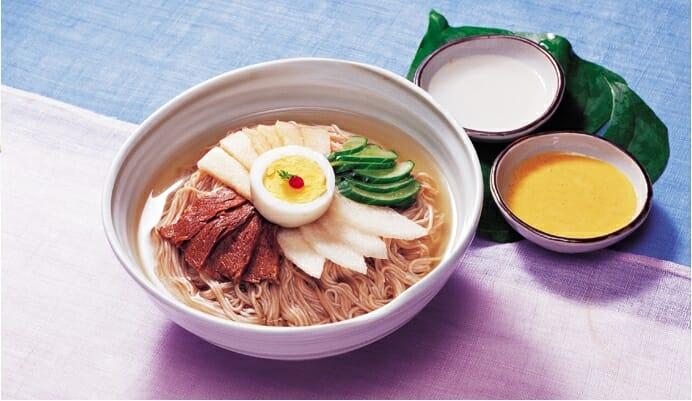 Công thức làm mì lạnh Hàn Quốc- Món ăn thích hợp cho ngày hè nóng nực