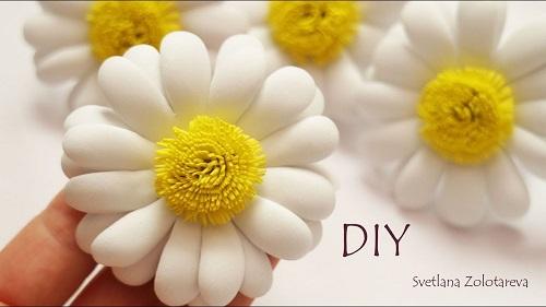 Cách làm hoa cúc