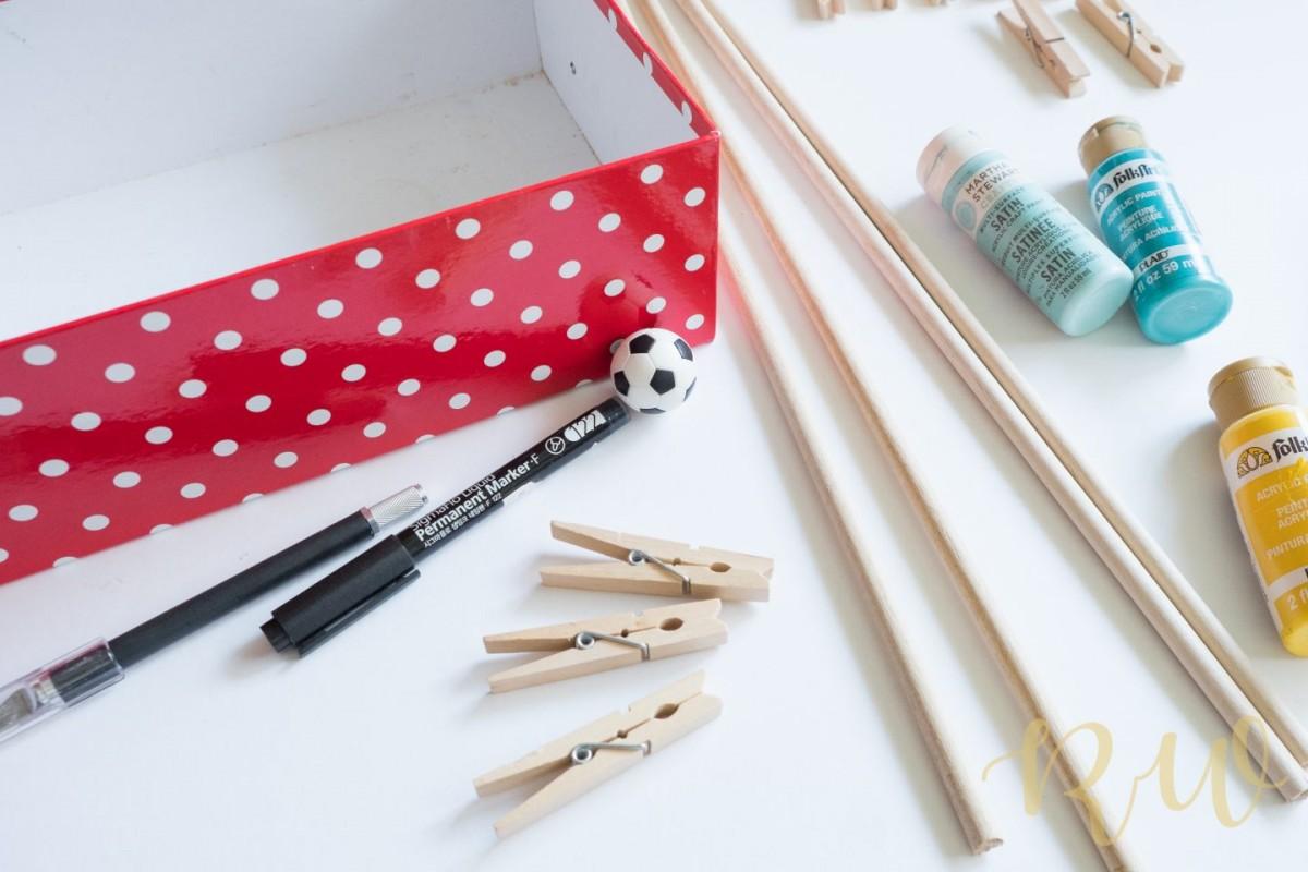 Tự làm đồ chơi cho trẻ từ các nguyên liệu đơn giản