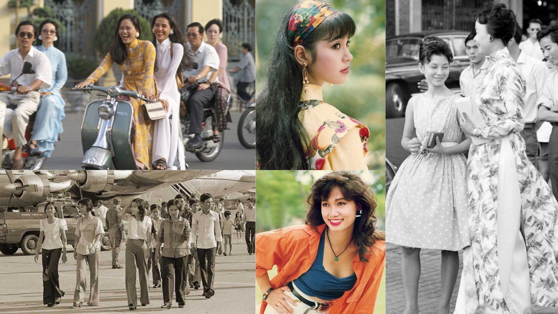 Phụ nữ Sài Gòn - Phong cách thời trang phóng khoáng các thập niên cuối thế kỷ 20