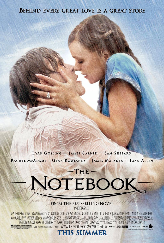 Phim tình cảm lãng mạn: The notebook