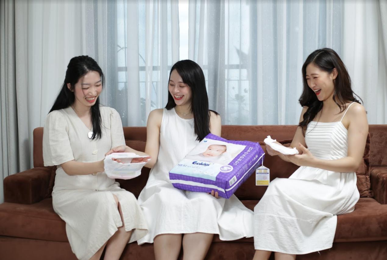 Tã/bỉm Goldgi+ cao cấp Nhật Bản mở rộng nhà máy sang thị trường mới