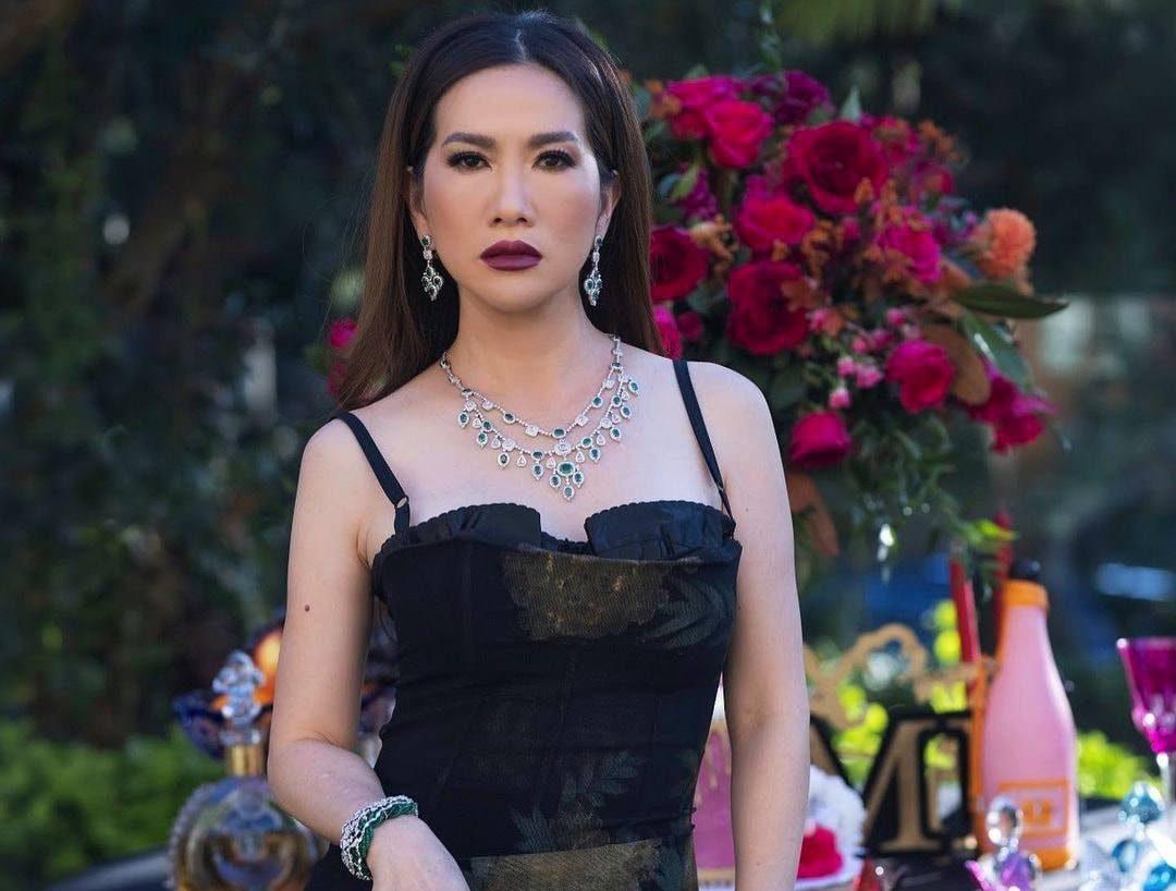 Nữ tỷ phú gốc Việt Mimi Morris tổ chức kỷ niệm ngày cưới như hoàng gia