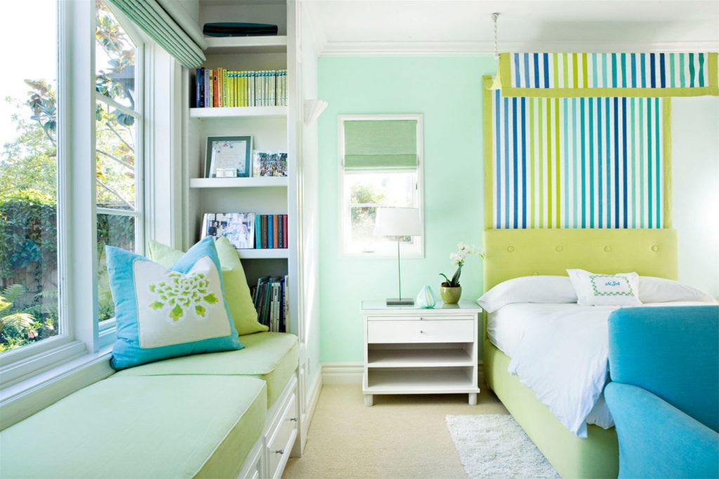 Sơn nhà màu xanh ngọc: Vẻ đẹp dịu mát và tinh tế