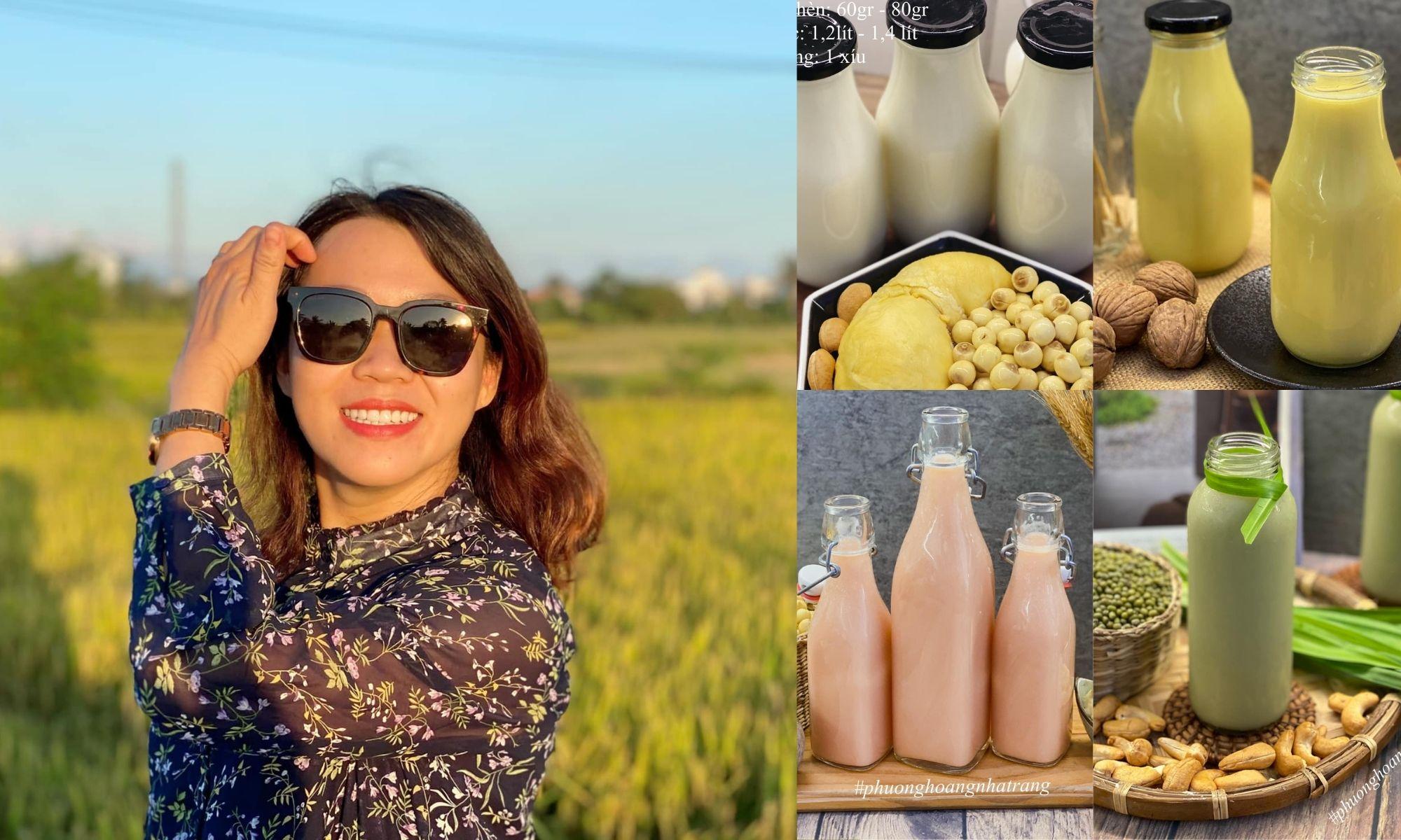 8x xinh đẹp, khéo tay trổ tài làm đủ món sữa hạt thơm ngon cho cả gia đình