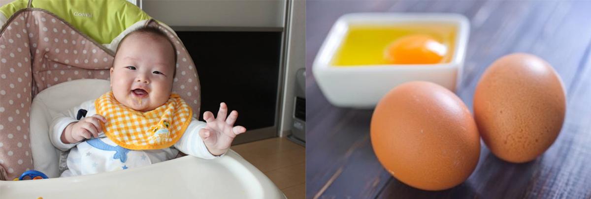 cháo yến mạch trứng gà