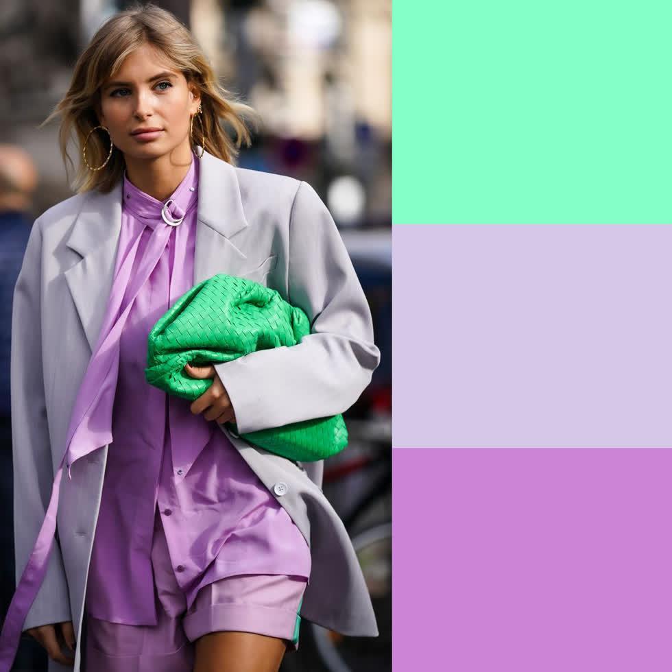 Các tips mix đồ theo màu cực xinh dành cho các cô nàng đam mê màu sắc