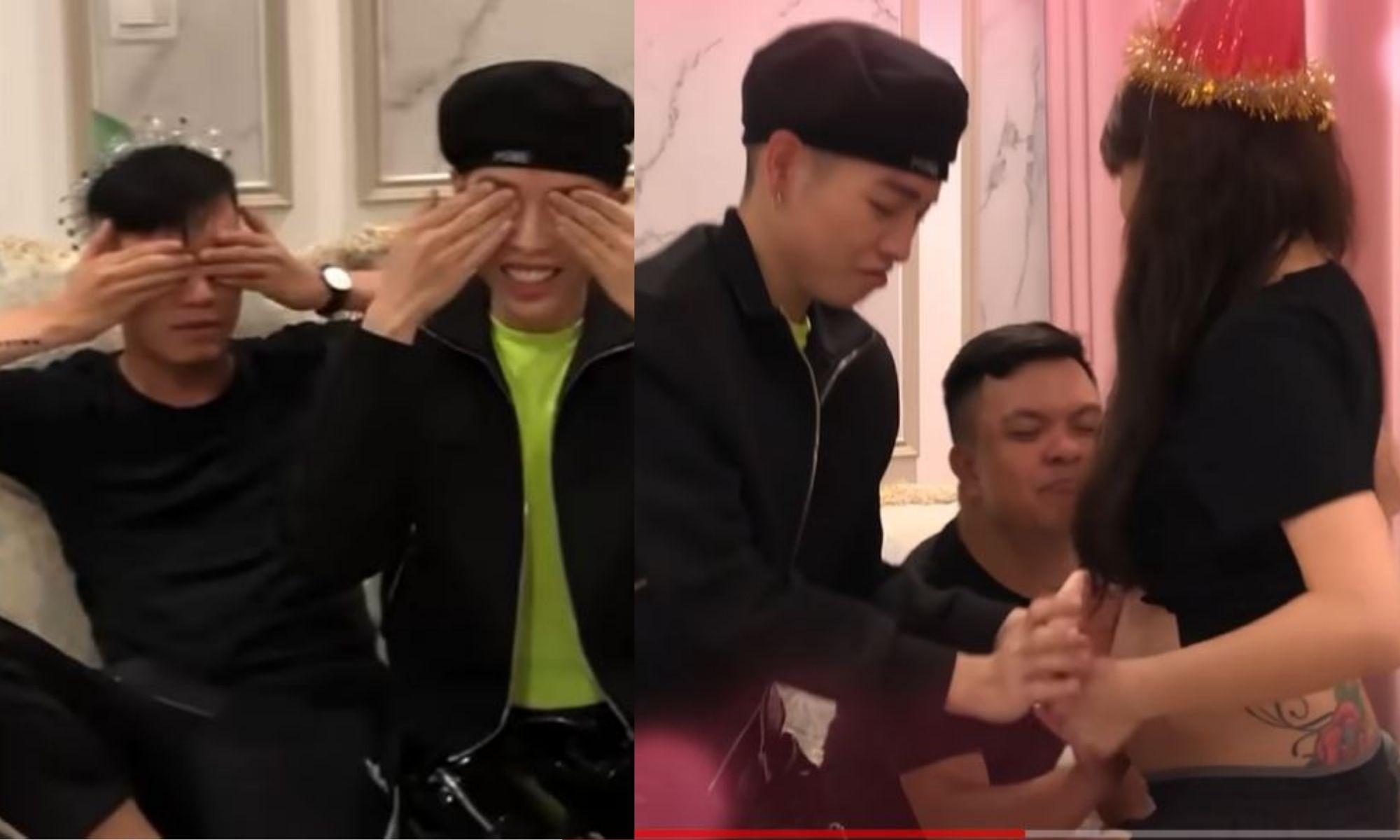 Đức Phúc xúc động chia sẻ lại khoảnh khắc khi biết tin Hoà Minzy mang bầu bé Bo