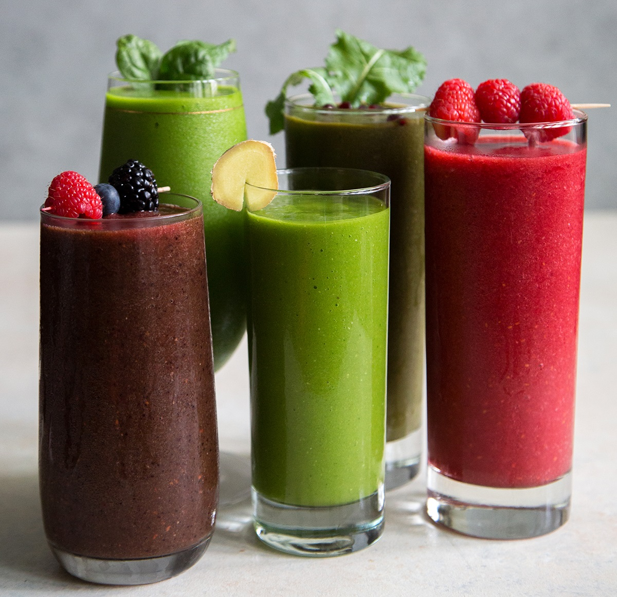 smoothie giam can