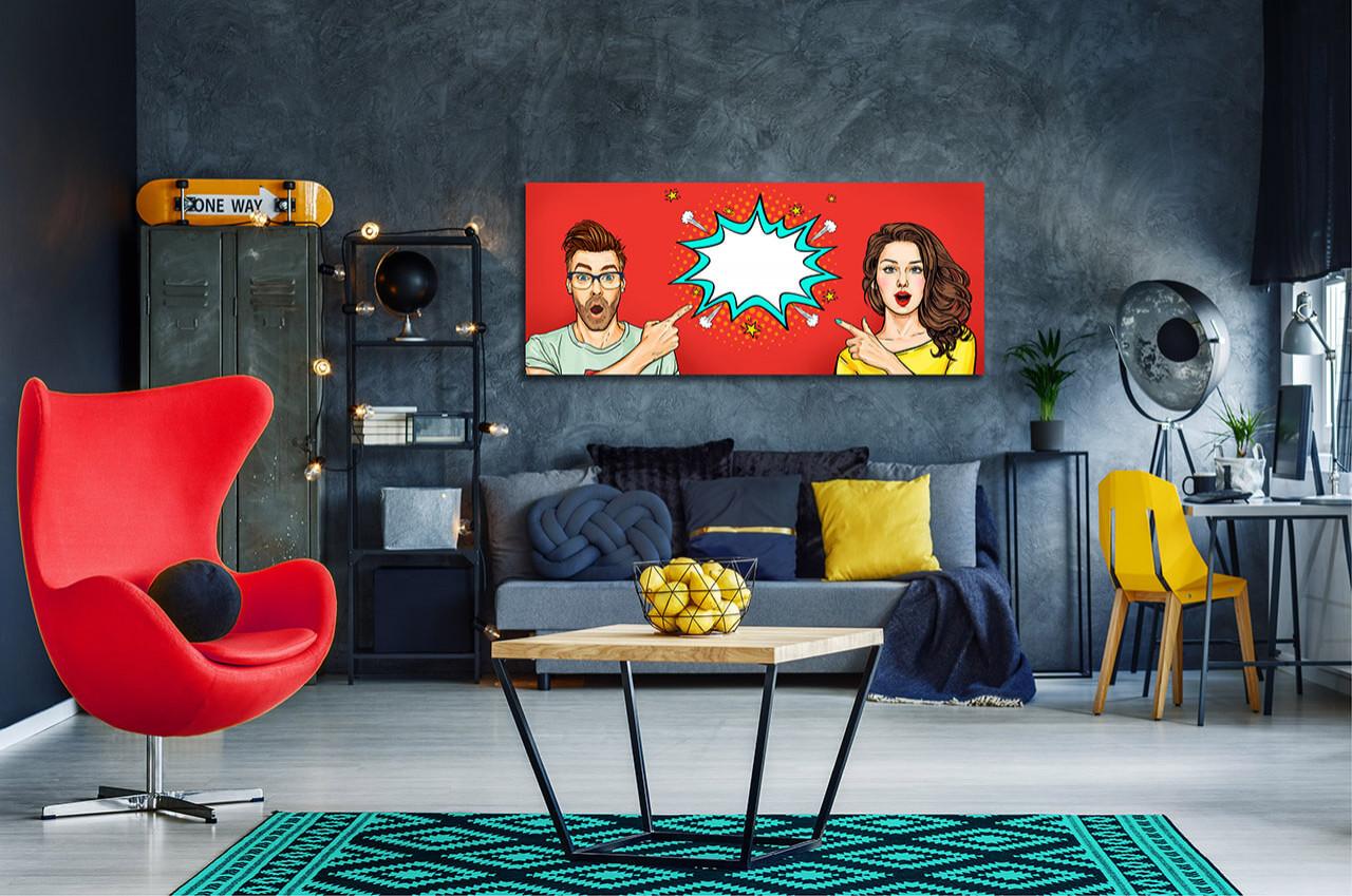 Phong cách Pop Art nổi loạn và tươi trẻ trong thiết kế nội thất