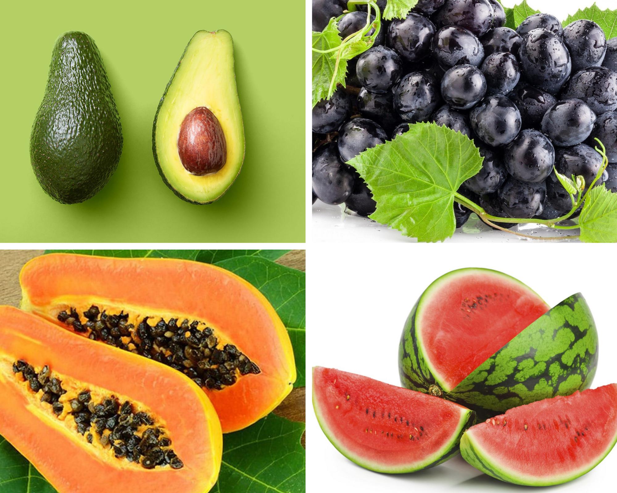 Các loại trái cây ngăn ngừa lão hóa hàng đầu giúp các chị em trẻ mãi không già