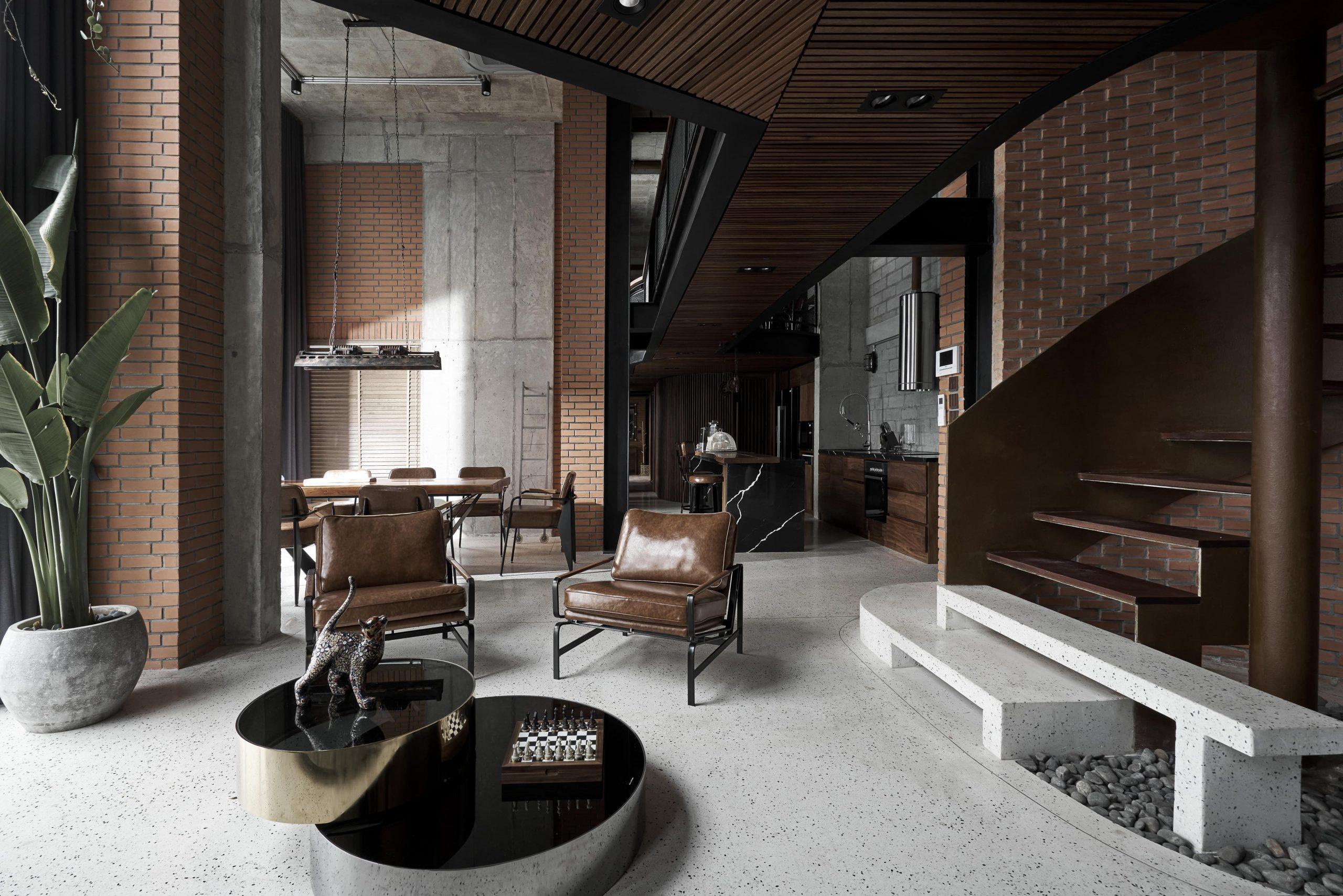 Cùng ngắm nhìn căn hộ penthouse đậm chất nghệ thuật ngay giữa lòng Hà Nội
