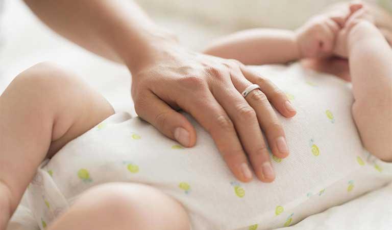 massage cho be