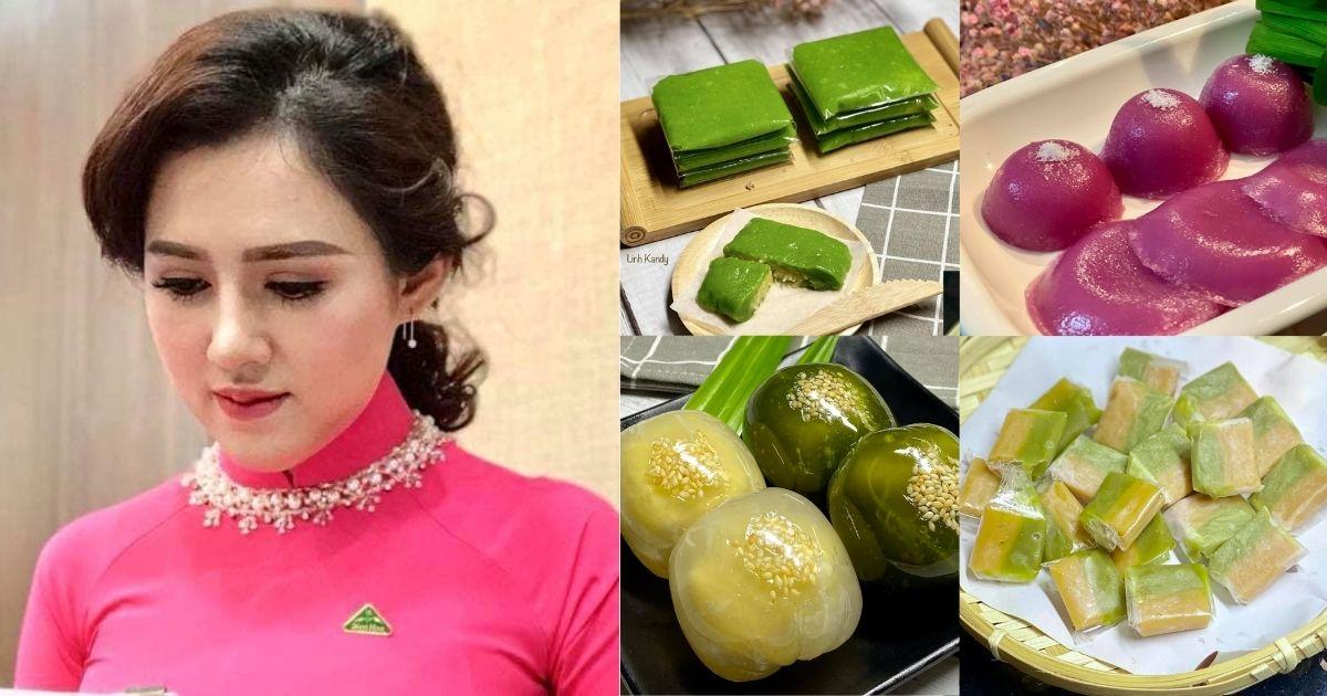 Cô gái khiến dân mạng bái phục vì trổ tài làm các món quà bánh quê ngon nức nở
