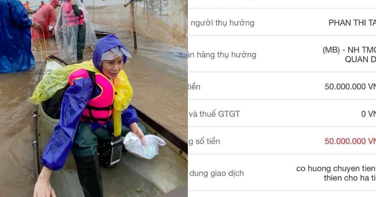Mẹ Hồ Ngọc Hà lên tiếng minh bạch số tiền từ thiện miền Trung