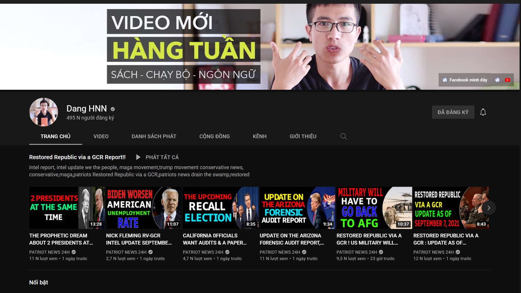 kenh YouTube