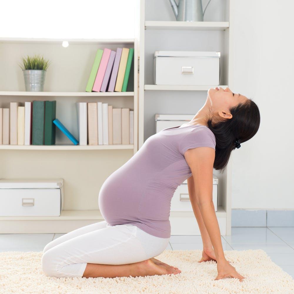 tập thở khi mang thai