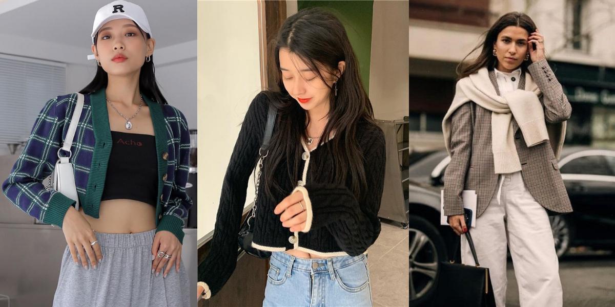 Học ngay 3 cách phối áo cardigan trông sành điệu mà vẫn trẻ trung, năng động