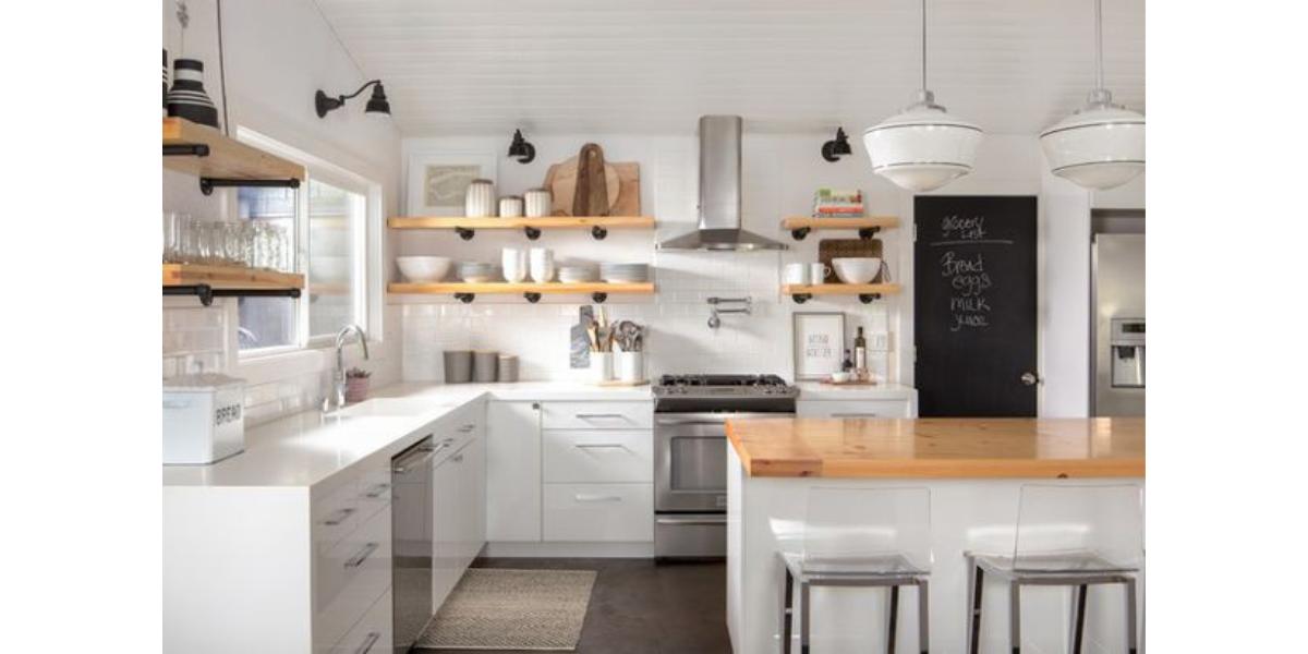 8 quy tắc lưu trữ đồ đạc giúp mở rộng không gian trong nhà bếp
