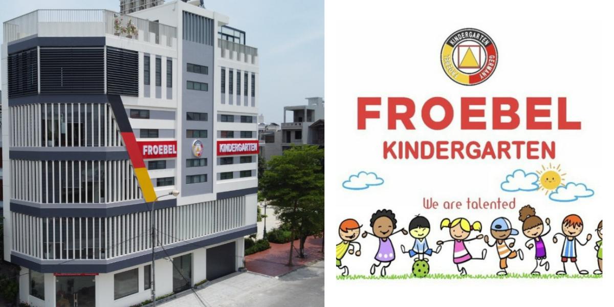 Mầm non Froebel và phương pháp giáo dục chuẩn châu Âu để trẻ phát triển vượt trội