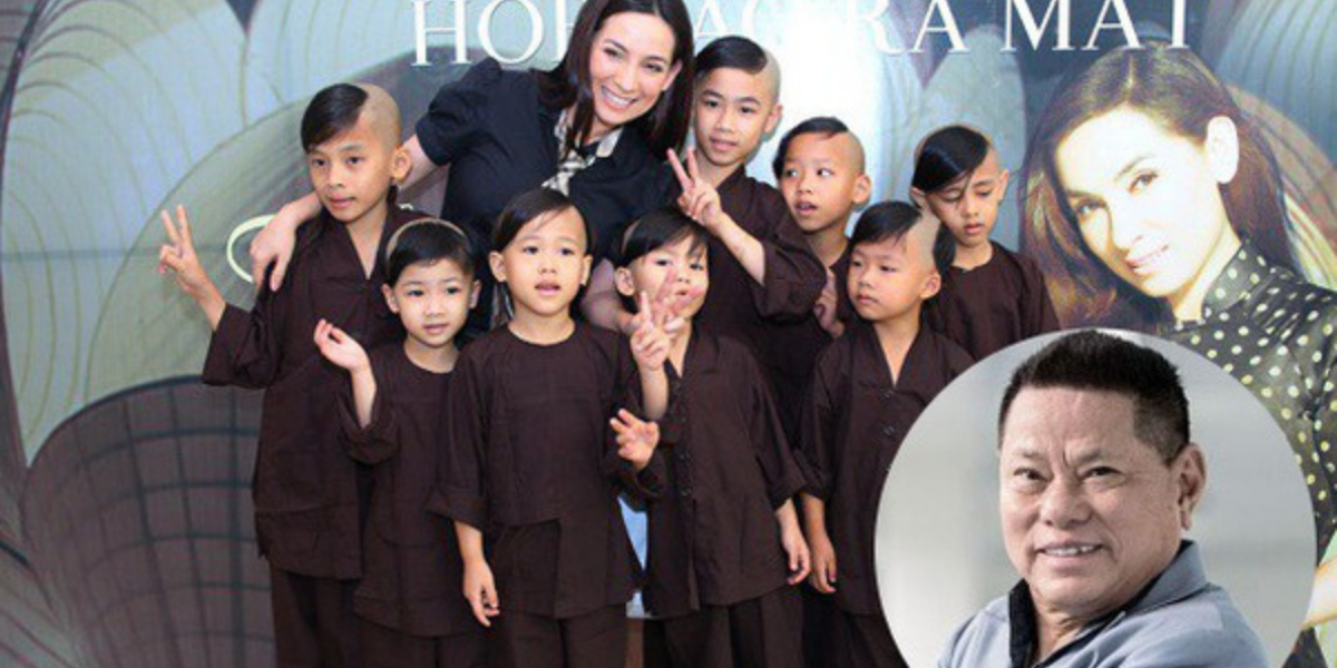 Tỷ phú Hoàng Kiều tuyên bố thay ca sĩ Phi Nhung nuôi 23 đứa trẻ mồ côi