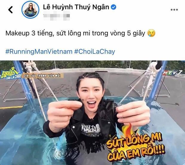 Running Man Thuy Ngan