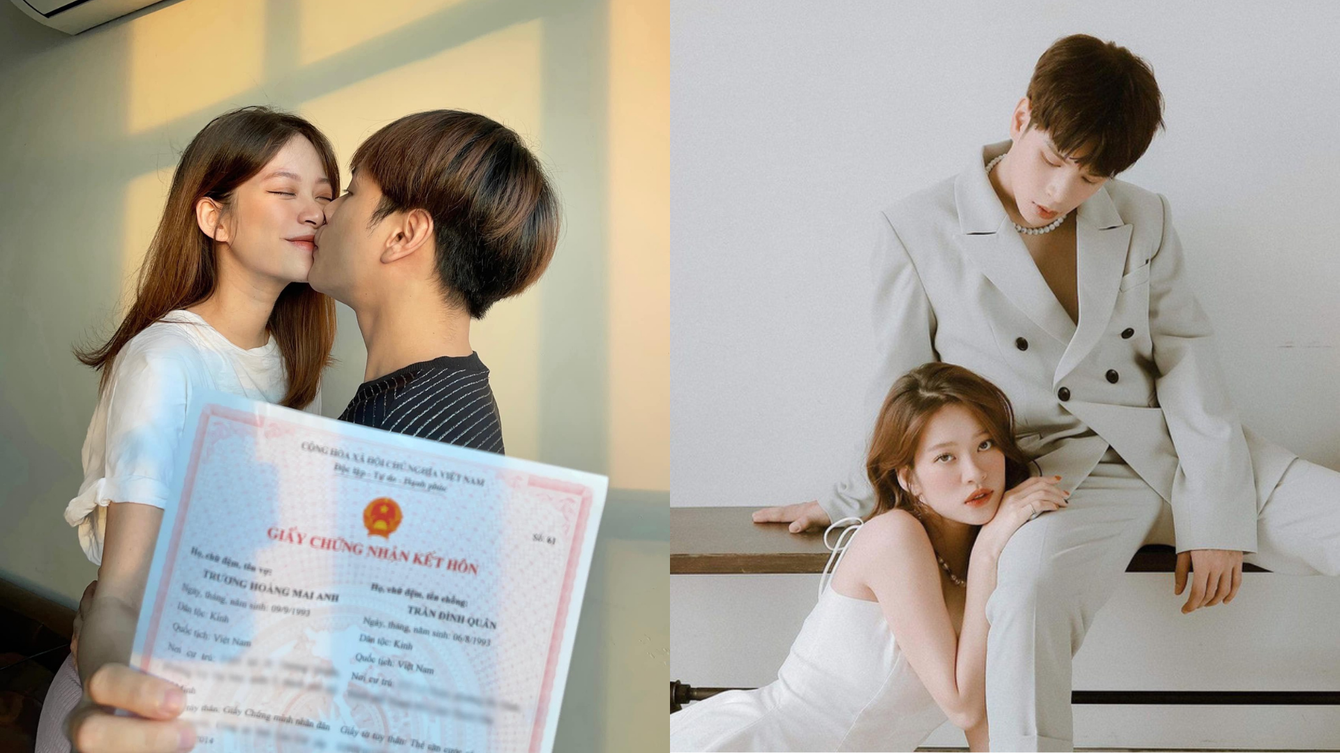 Khoe giấy đăng kí kết hôn, vợ chồng Jaykii bị netizen phán