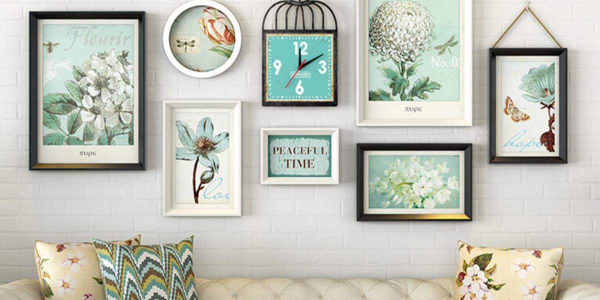 Nên trang trí tranh treo tường như thế nào để ngôi nhà tinh tế, sang trọng hơn?