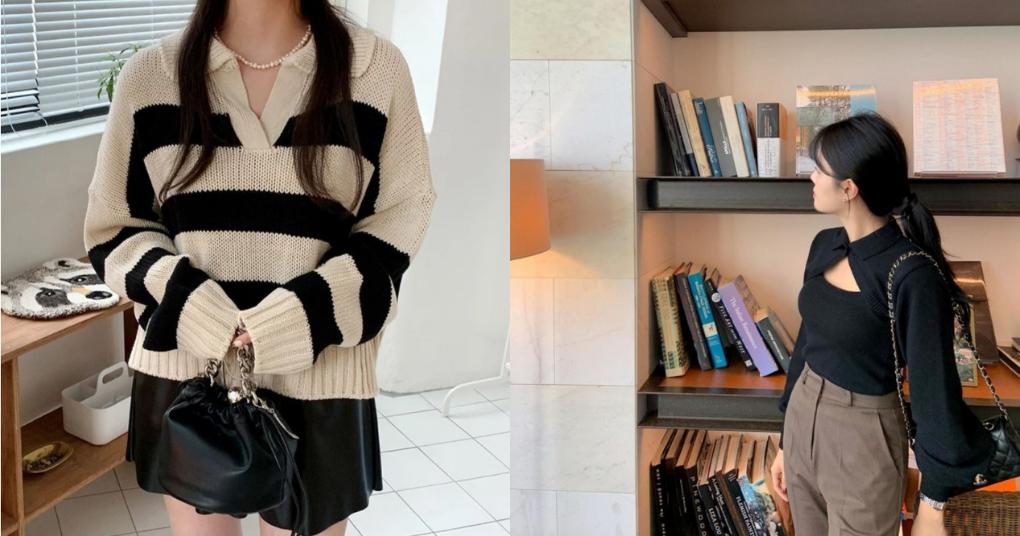 Bật mí 4 kiểu áo len Thu - Đông giúp