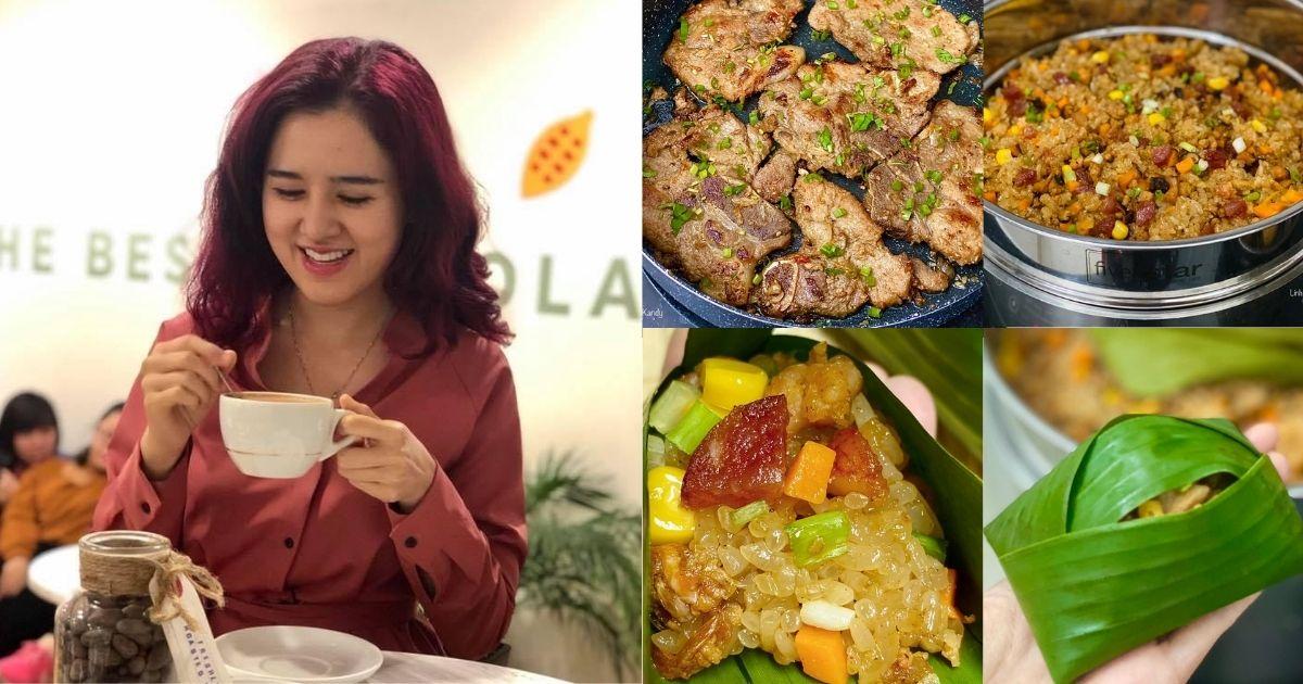 Gái đảm Sài Thành tiết lộ cách làm món xôi thịt tôm tươi ăn kèm trứng kho thơm ngon, béo ngậy
